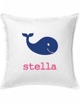 Custom Pillow-75B-Happy Whale