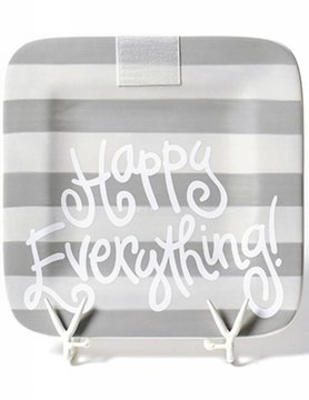 Stone Stripe Happy Everything Mini Platter