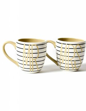 Set of 2 Mr. & Mrs. Mugs