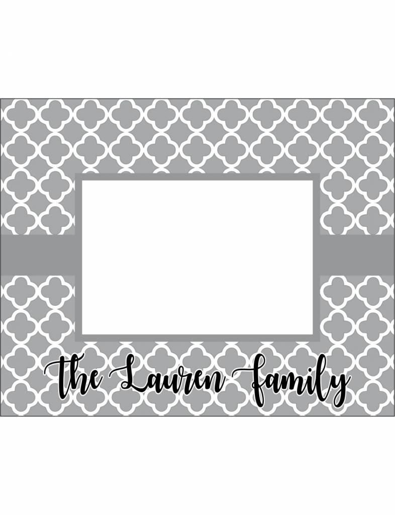 Custom Frame-FRM5-Quatrefoil Family