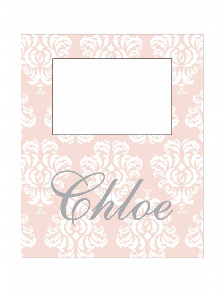 Custom Frame-KDF7-Soft Damask