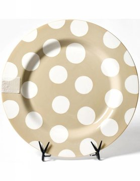 Neutral Dot Entertaining Big Platter