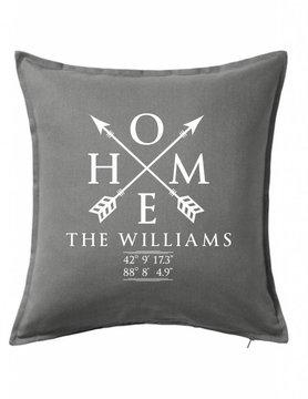 Custom Pillow-28B-Home Sweet Family