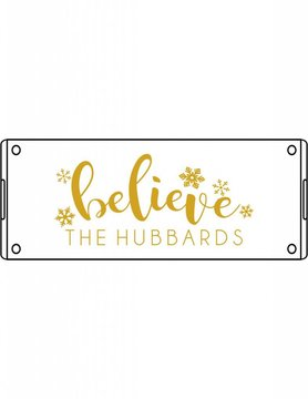 Acrylic Small Rectangular Tray-ACR104-Believe