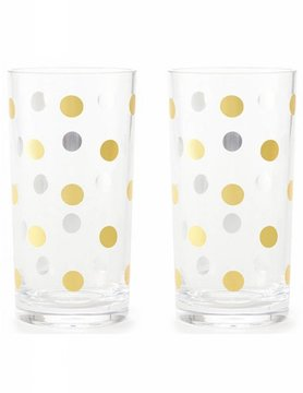 Kate Spade Raise A Glass Highball Glasses