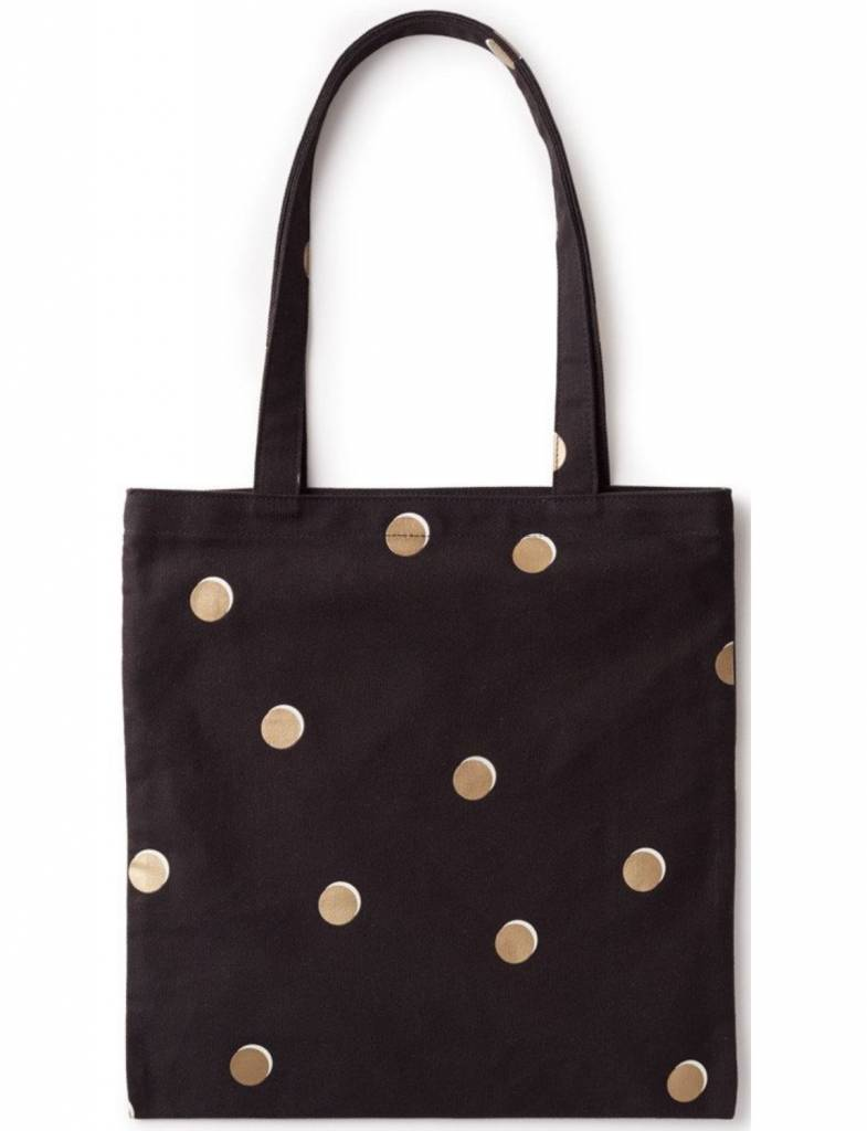 Kate Spade Scatter Dot Canvas Book Tote