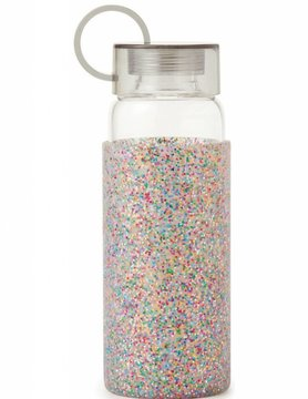 Kate Spade Multi Glitter Water Bottle
