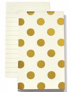 Kate Spade Small Notepad, Shiny Dot