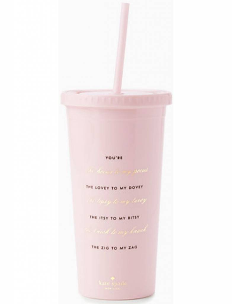 Kate Spade Insulated Tumbler, Hocus To My Pocus