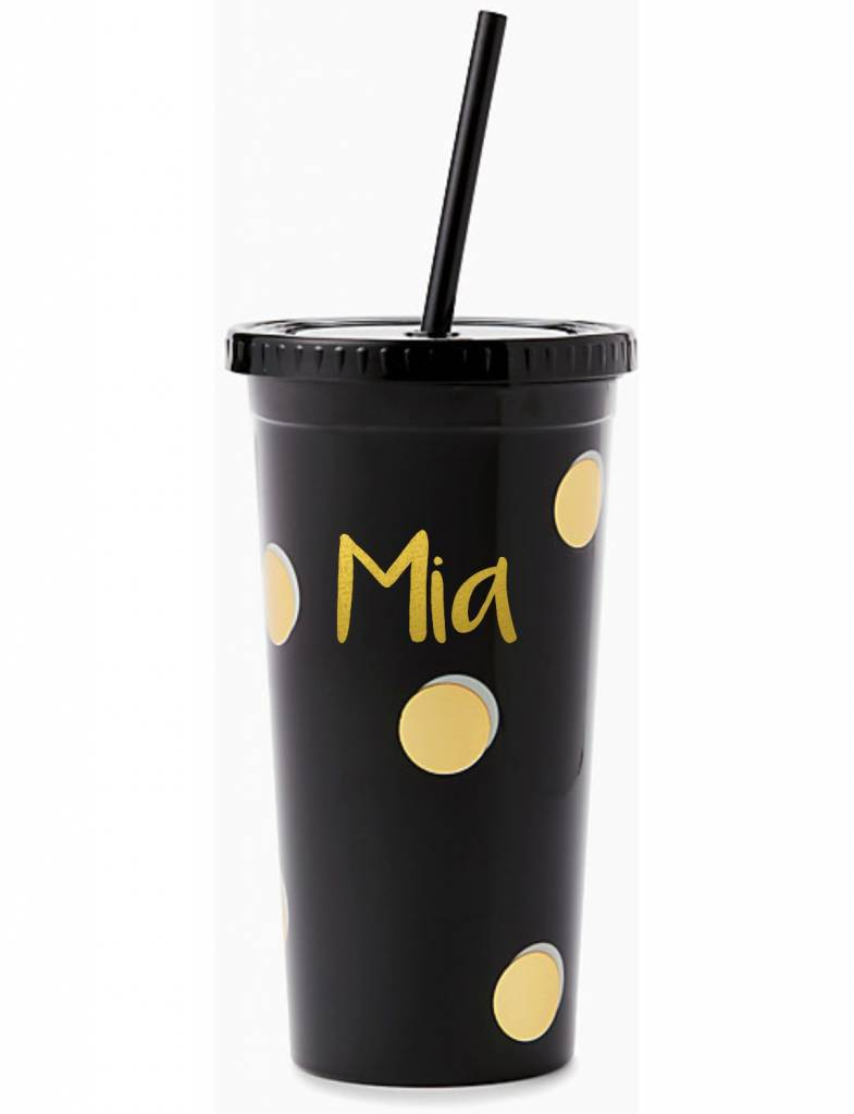 Kate Spade Insulated Tumbler, Scatter Dot