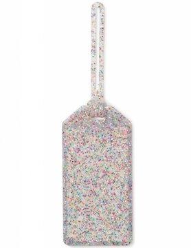Kate Spade Off We Go Luggage Tag, Multi Glitter
