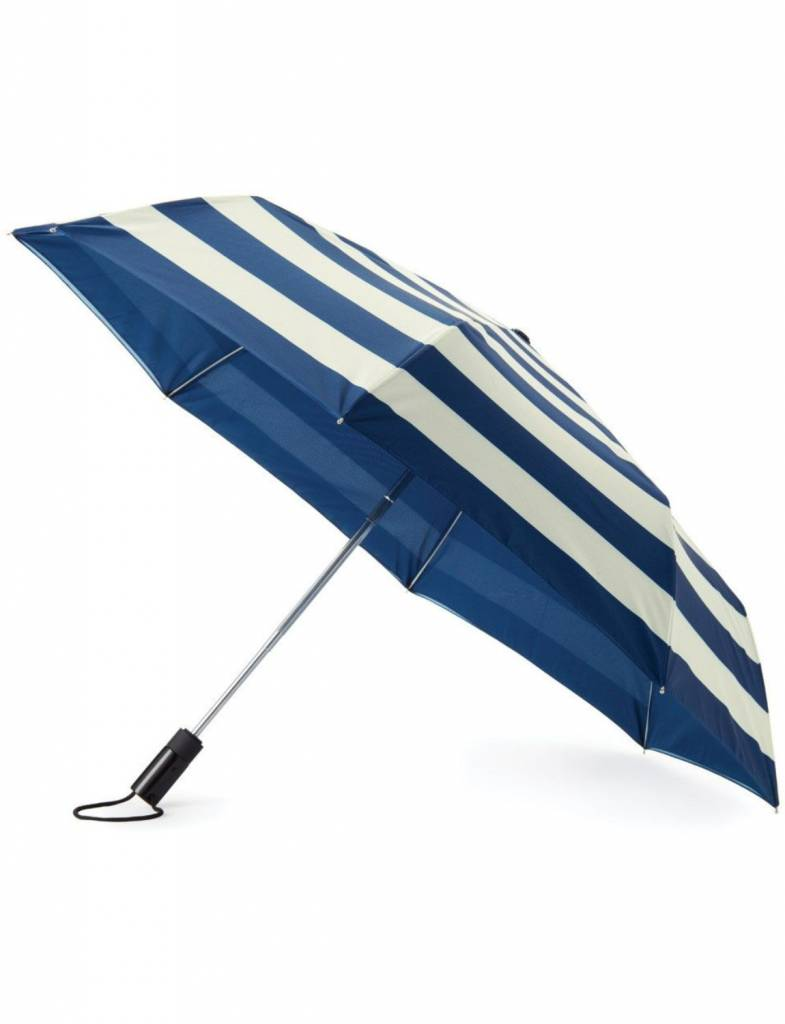 Kate Spade Travel Umbrella, Jubilee Stripe