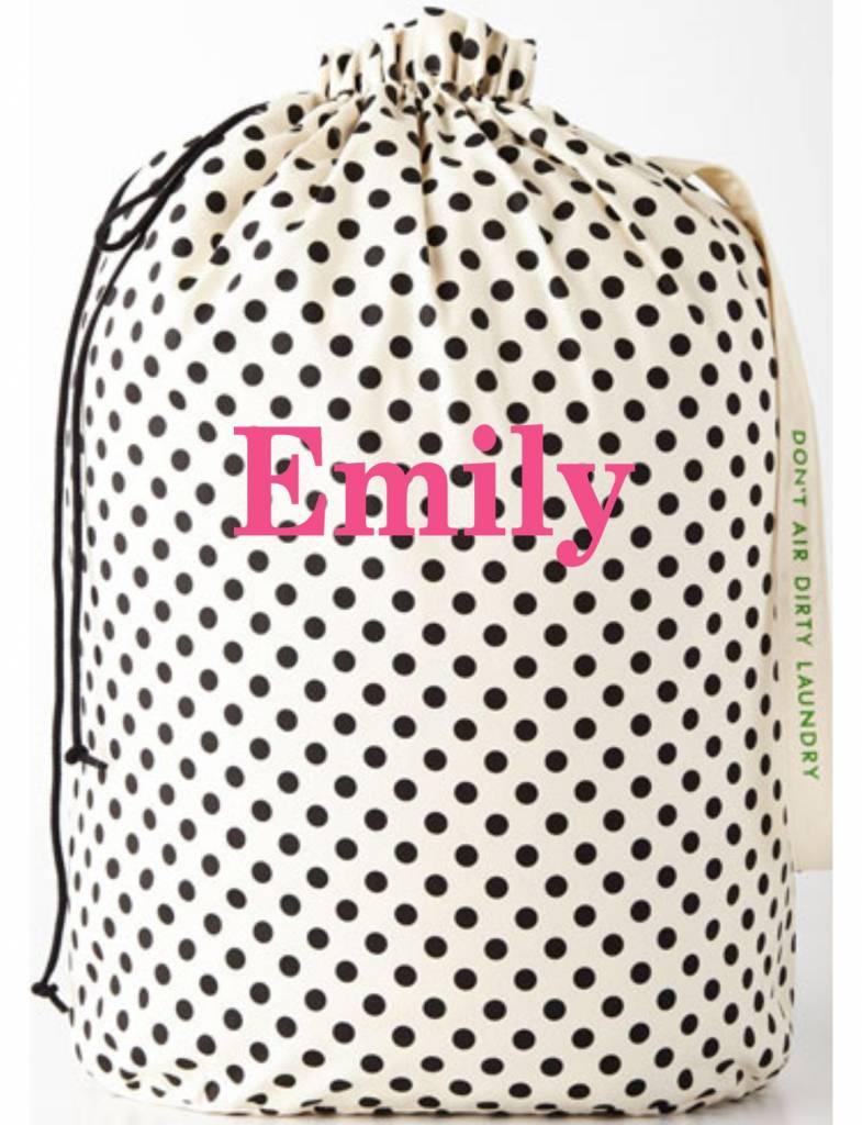 Kate Spade Laundry Bag, Don't Air Dirty Laundry