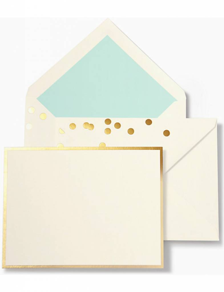 Kate Spade Notecard Set, Cue The Confetti