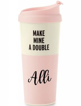 Kate Spade Thermal Mug, Make Mine A Double