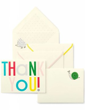 Kate Spade Thank You Notecard Set, Hey Baby