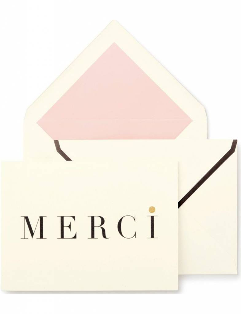 Kate Spade Thank You Notecard Set, Merci
