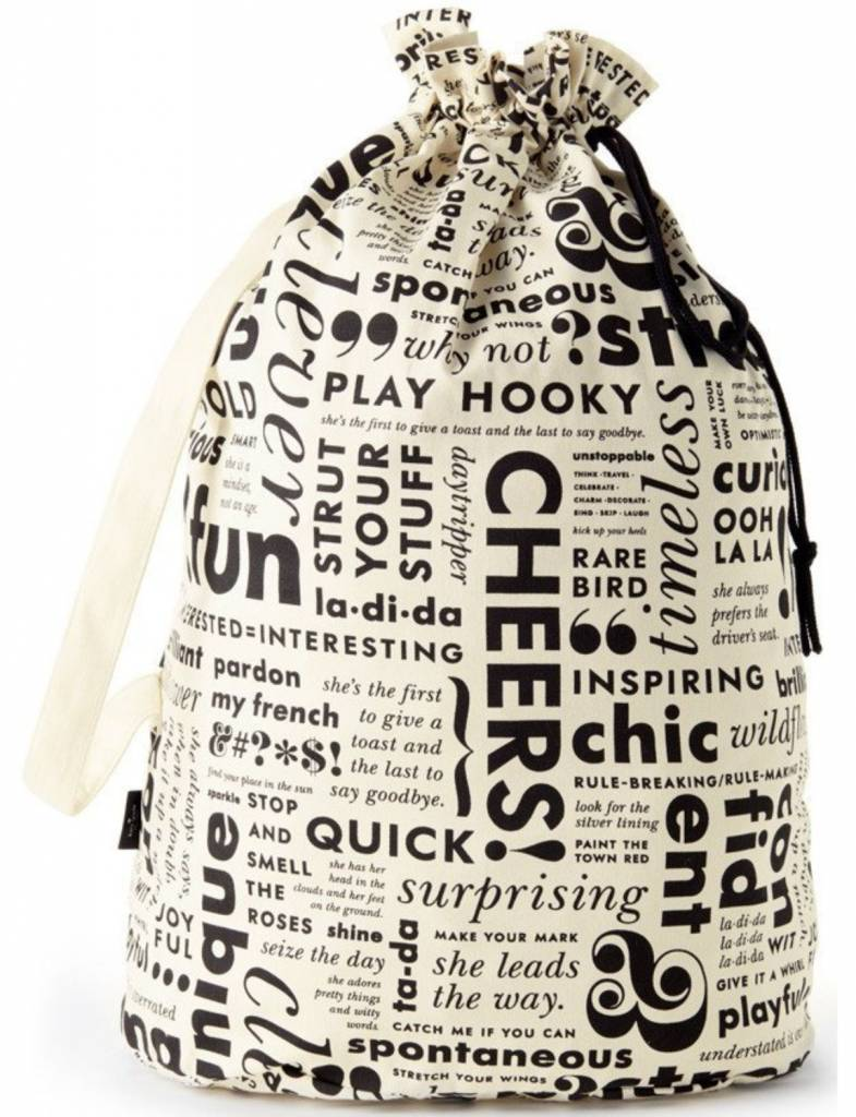 Kate Spade Laundry Bag, What Do You Say