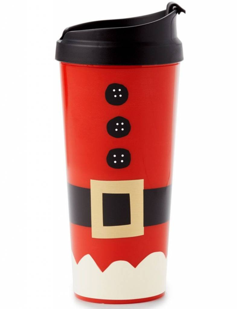 Kate Spade Thermal Mug, Santa Suit