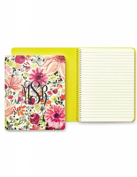 Kate Spade Concealed Spiral Notebook, Dahlia