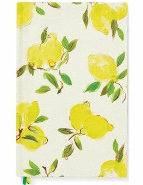 Kate Spade Word to the Wise Journal, Lemon