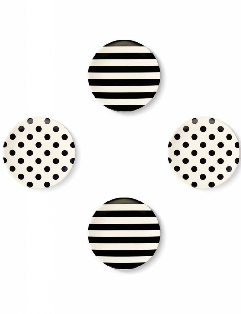 Kate Spade Raise A Glass Tidbit Plates