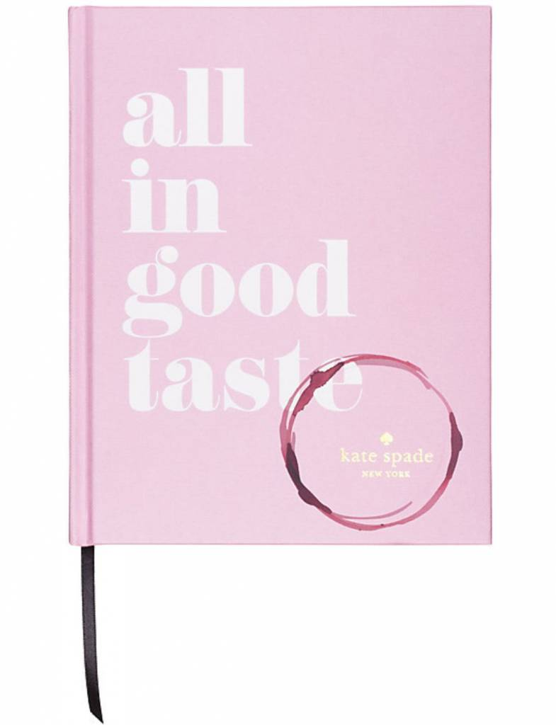 Relatively Kate Spade All In Good Taste Book - Heads Up Boutique TZ88