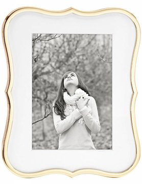 Kate Spade Crown Point Gold 5x7 Frame