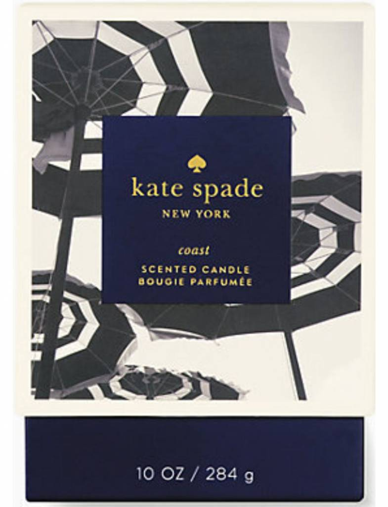 Kate Spade Large Candle, Coast