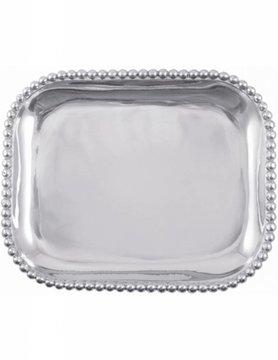 1147 Pearled Rectangular Platter
