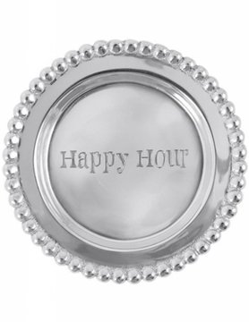 """1162HH """"Happy Hour"""" Wine Plate"""
