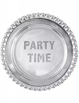 1162PT Party Time Wine Plate