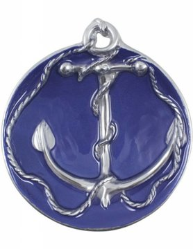 2170-CO Anchor Sauce Dish, Cobalt