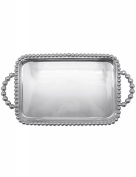 2727 Pearled Medium Service Tray