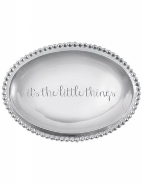 "3205LT ""It's the Little Things"" Small Oval Tray"