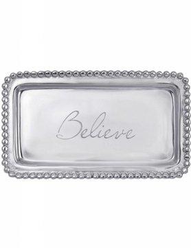 """3905BE """"Believe"""" Tray"""