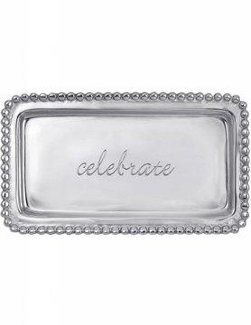 """3905CE """"celebrate"""" Tray"""
