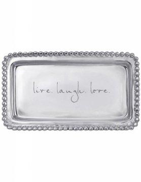 "3905LL ""live. laugh. love."" Tray"