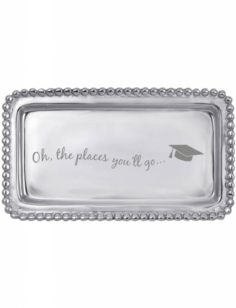 "3905OH ""Oh the Places You'll Go"" Statement Tray"