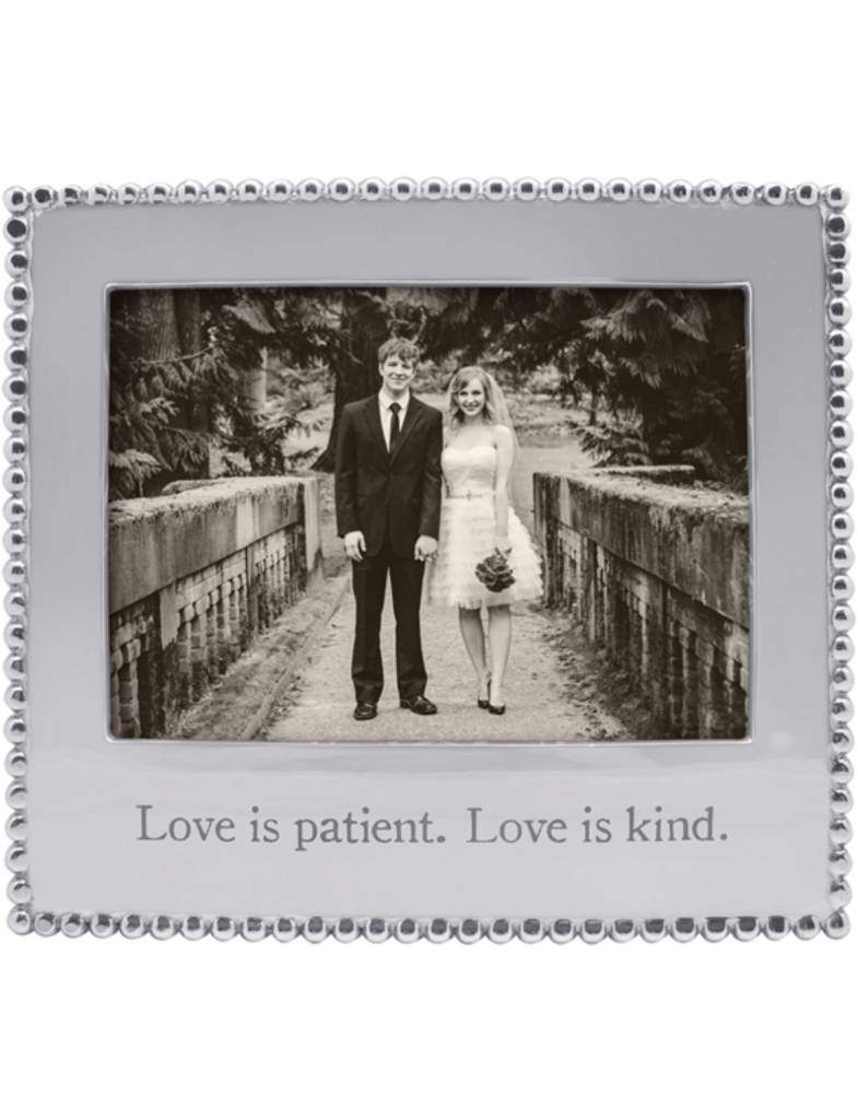 "3911LP ""Love is patient. Love is kind."" Frame"