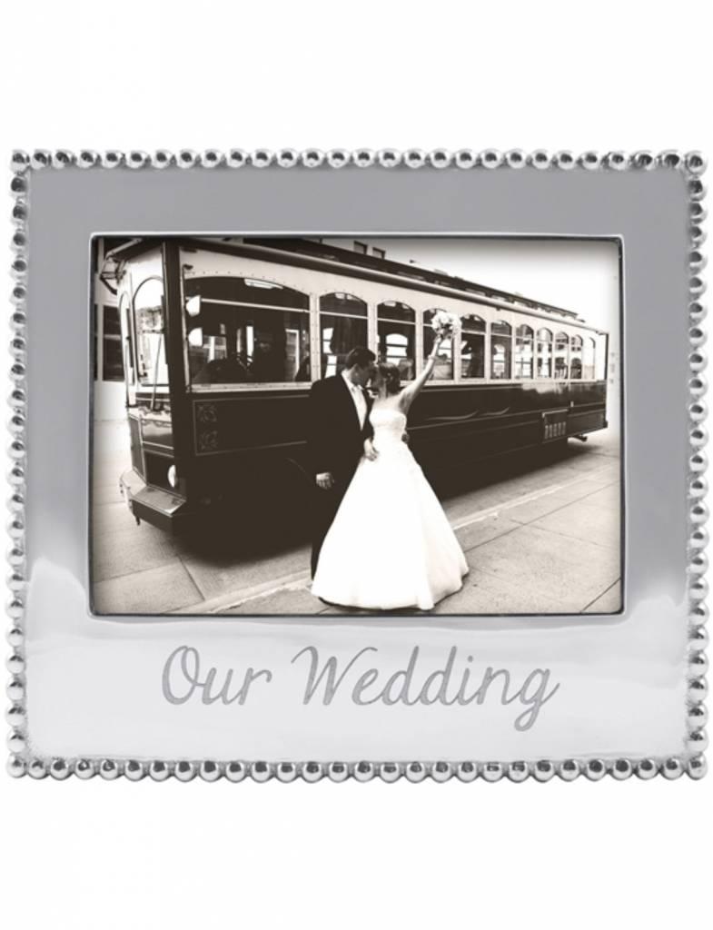 """3911OW """"Our Wedding"""" 5 x 7 Frame"""