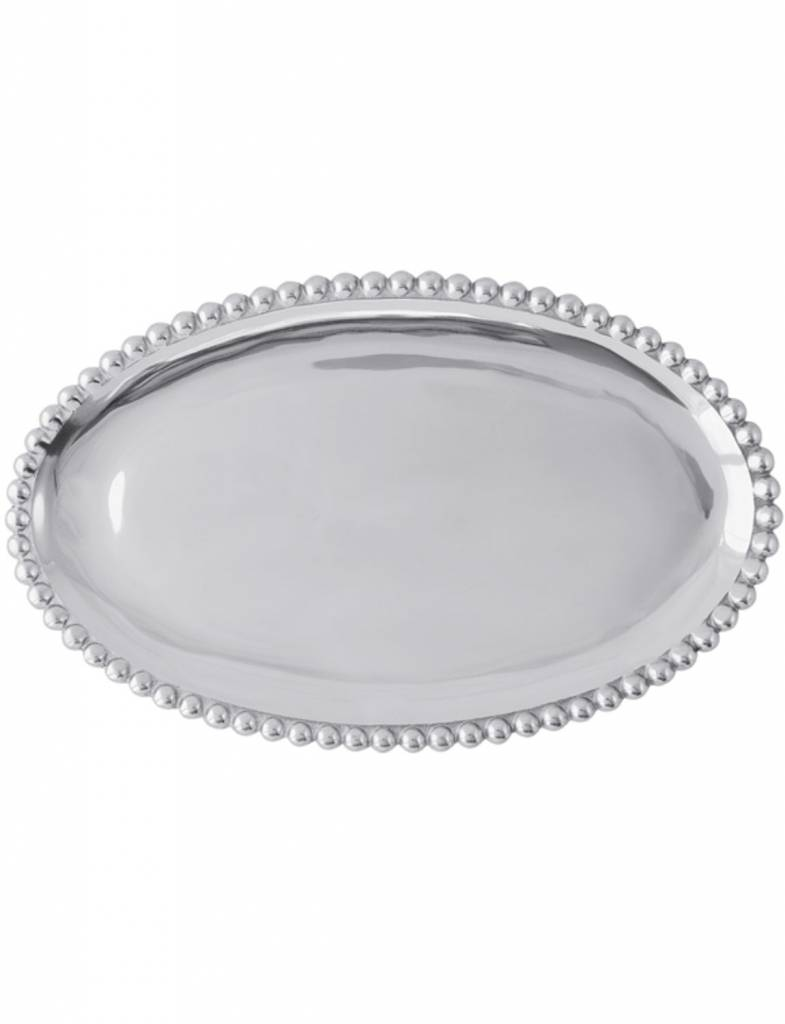 625 Pearled Oval Platter