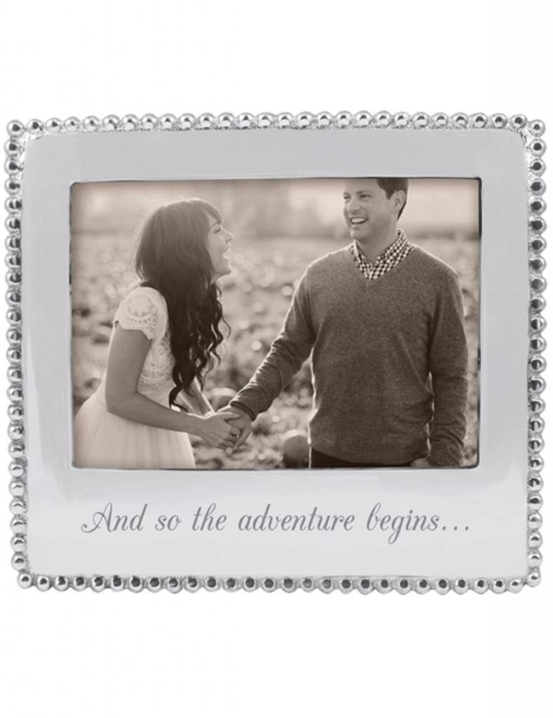 """3911AD """"And so the adventure begins..."""" Beaded Frame"""