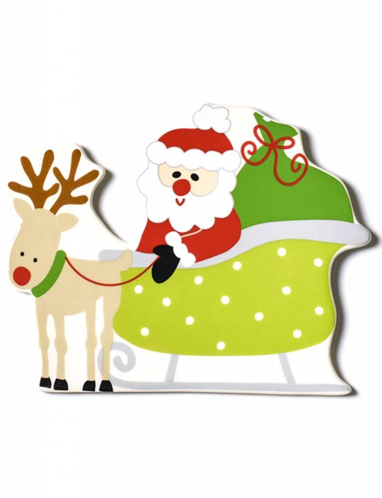 Santa Sleigh Big Attachment