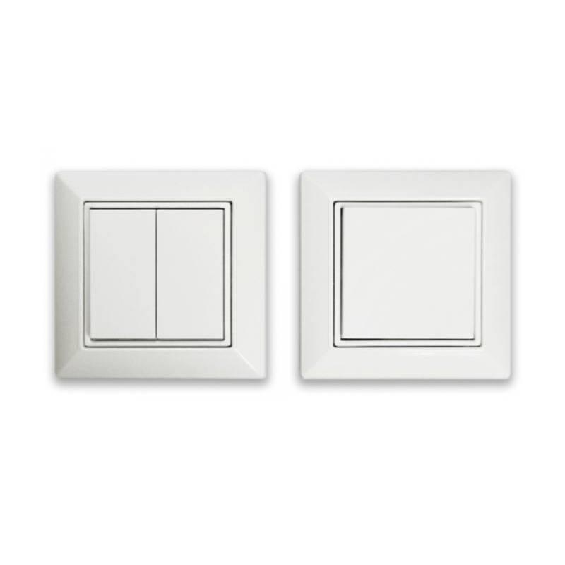 Casambi EnOcean Easyfit Single/Double Rocker Wall Switch