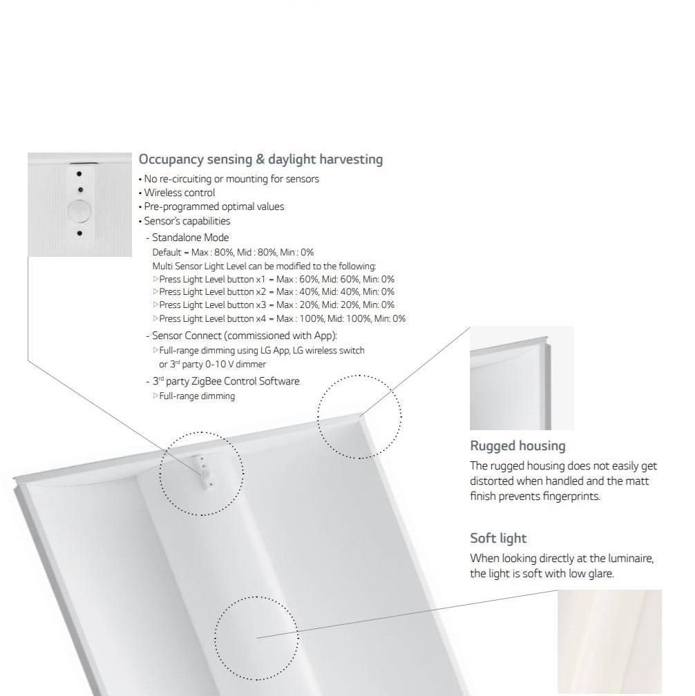 LG Lighting Simple Choice Troffer