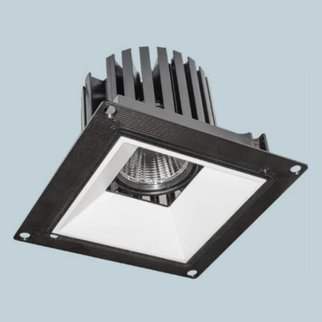 Square Flange Downlight Adjustable