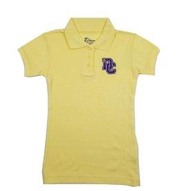 Classroom Uniforms Dayton Christian Girls SS Polo - Yellow