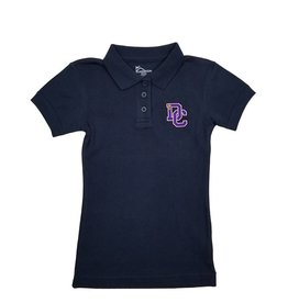 Classroom Uniforms Dayton Christian Girls SS Polo - Navy