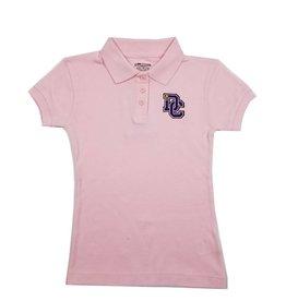Classroom Uniforms Dayton Christian Girls SS Polo - Pink